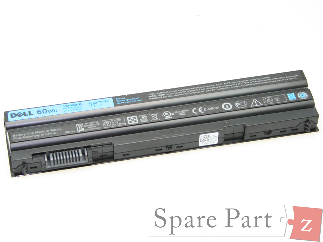 Original DELL Latitude Precision Akku Battery 60Wh TVMVN