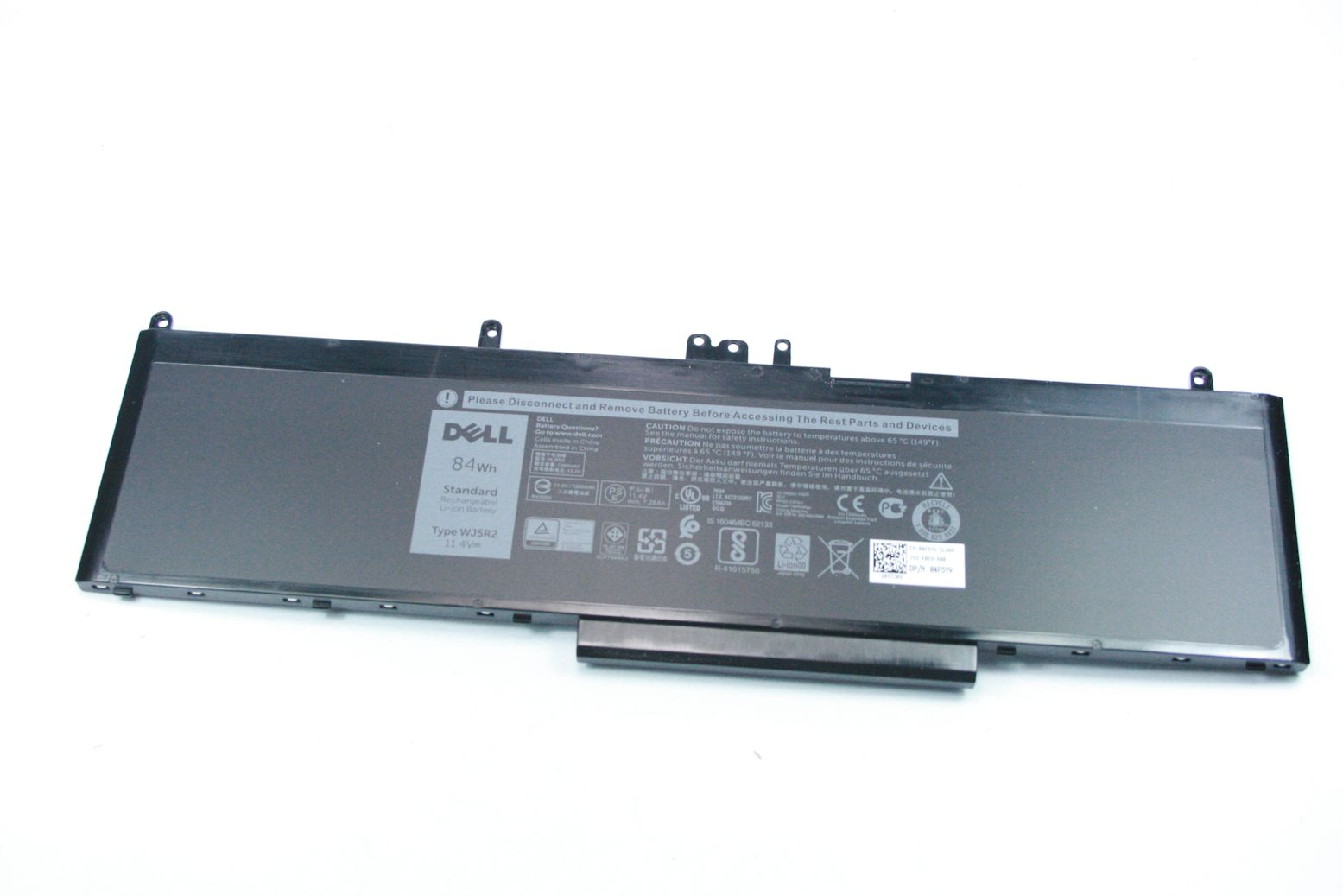 DELL Latitude E5570 Precision 15 3510 Akku Battery 84Wh WJ5R2