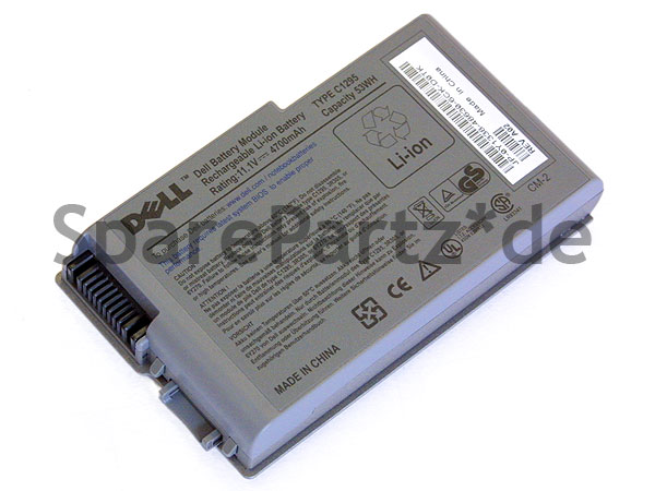 DELL Latitude D-Serie Akku Battery 4700mAh Typ C1295
