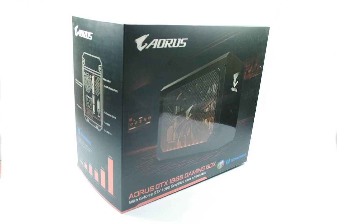 Gigabyte AORUS GTX 1080 8GB RAM Gaming Box Thunderbolt 3 EGPU APPLE MACBOOK PRO