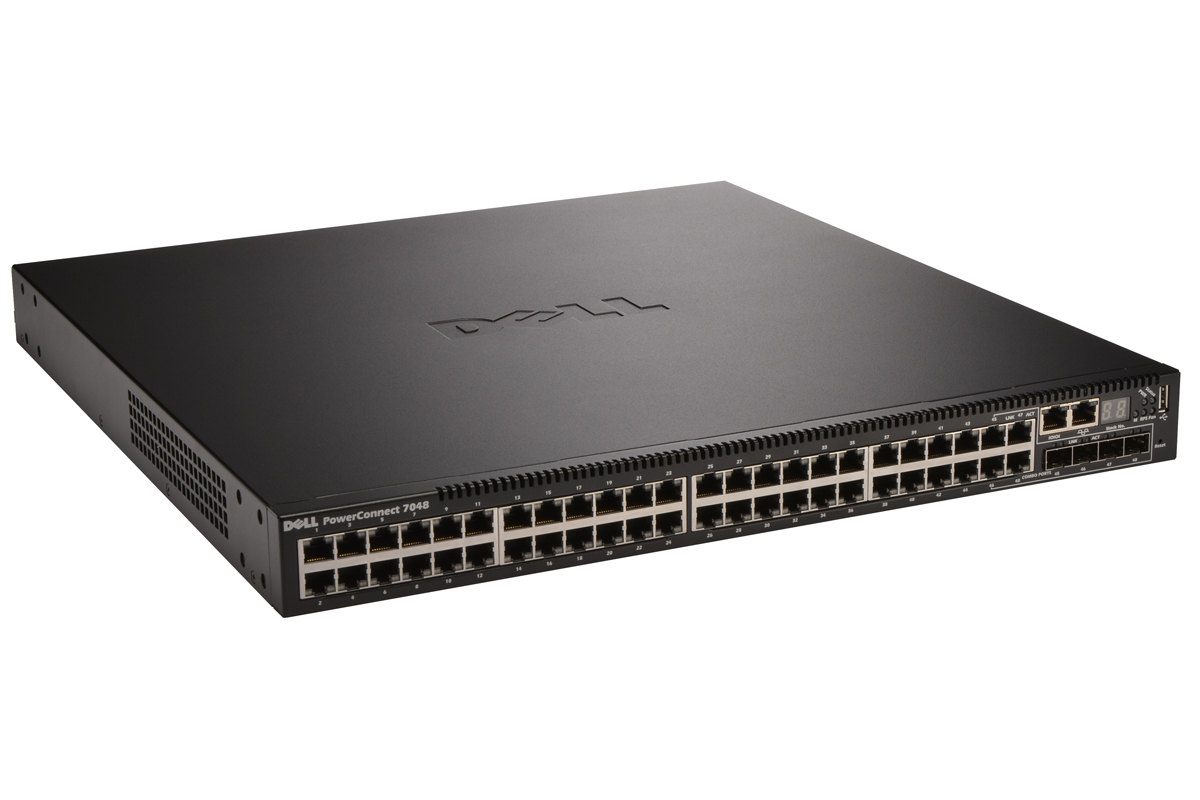 Dell PowerConnect 7048 48-Port Gigabit Ethernet Managed Layer 3 Network Switch