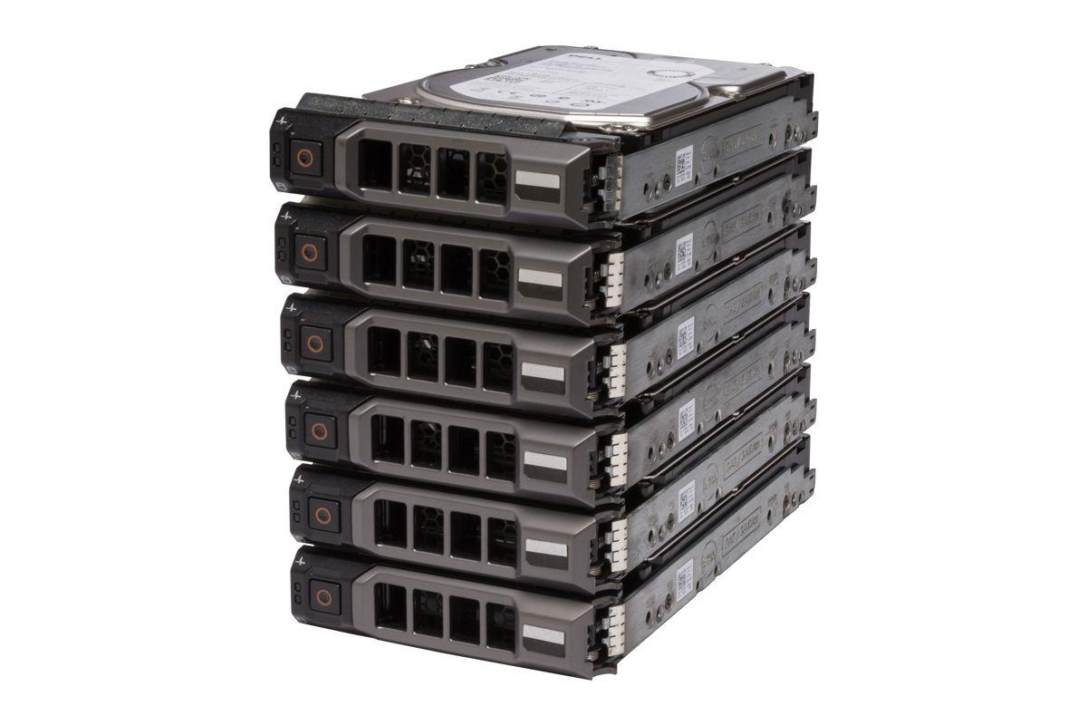"""6x DELL Enterprise Festplatte 6x 3TB 7.2k SAS 3.5"""" 12G 512e"""