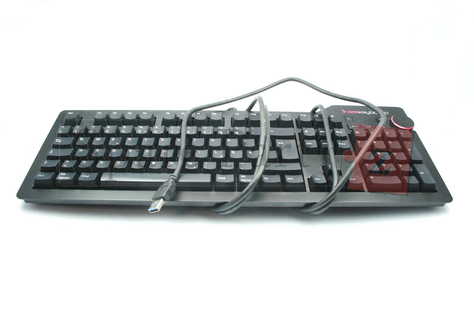 Das Keyboard 4 Professional Mac Cherry MX Blau Clicky DE Layout