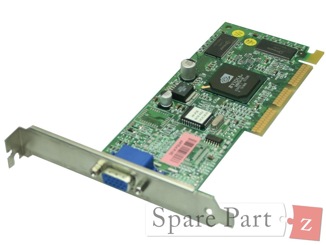 HP Server tc2110 AGP VGA Grafikkarte Video Card 16MB 5065-8979