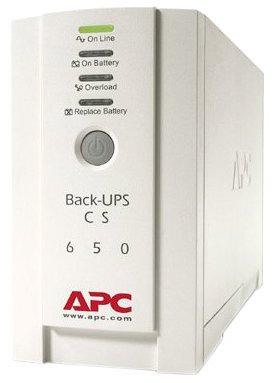 APC Back UPS CS 650 Notstromversorgung USV 650 VA