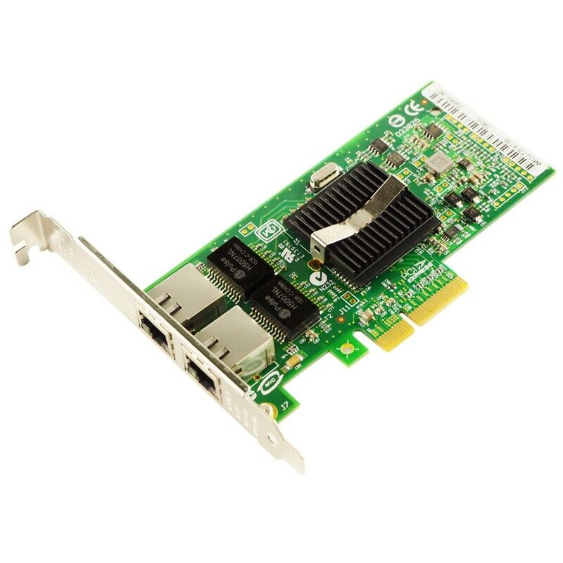 Intel Pro/1000 PT Dual Port PCI-E 2 Port Gigabit Netzwerk Adapter EXPI9402PT