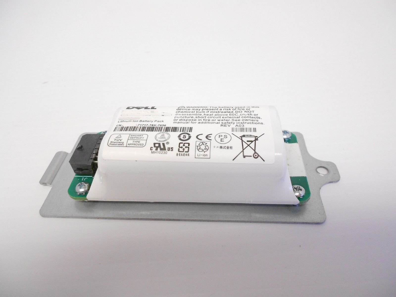 DELL EqualLogic PS4210 PS6210 Smart Battery Akku 10DXV